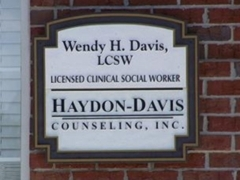 Haydon-Davis Counseling: Sign